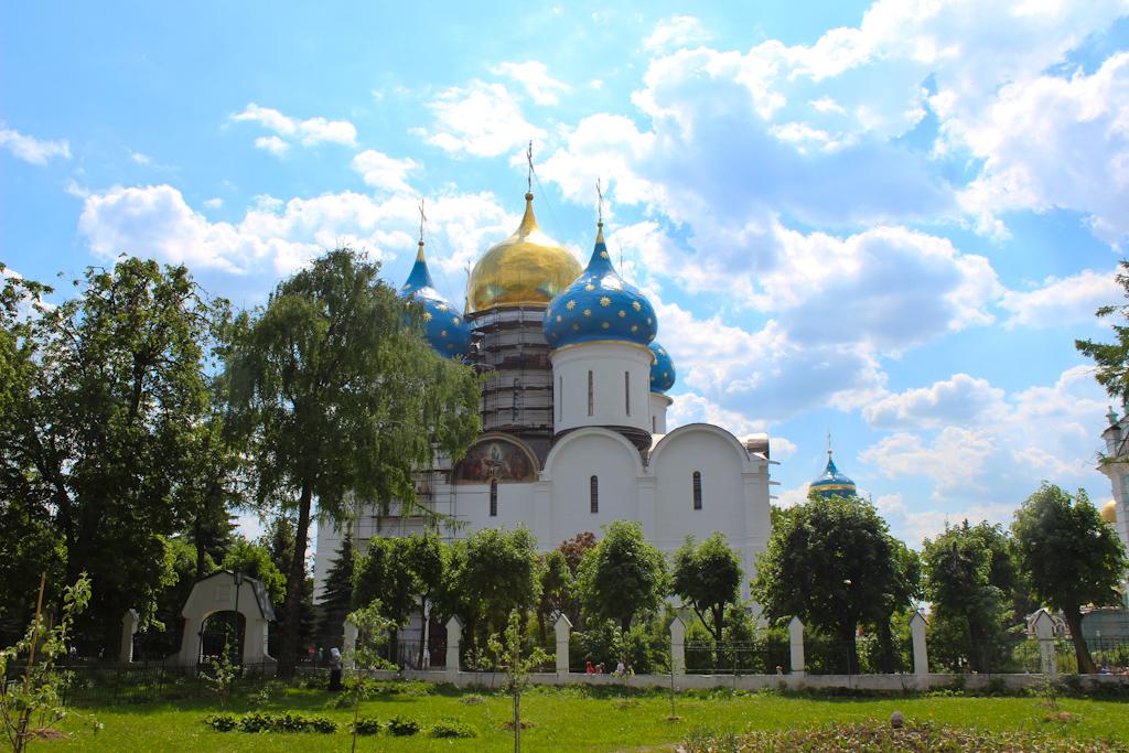 Паломничество в Свято-Троицкую-Сергиеву Лавру.